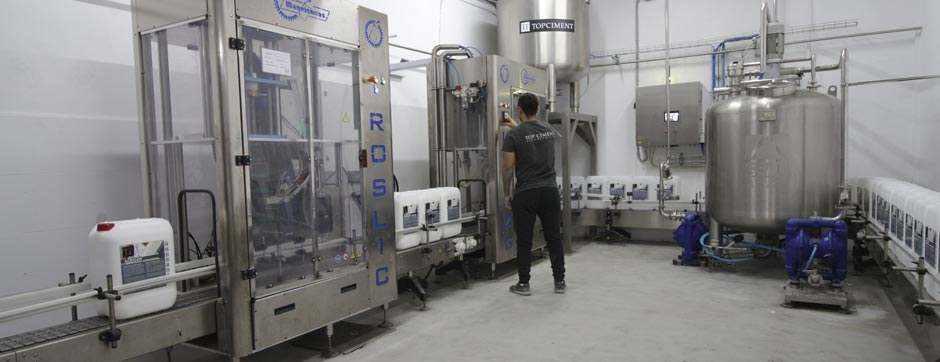 Fabrica microcementos Topciment