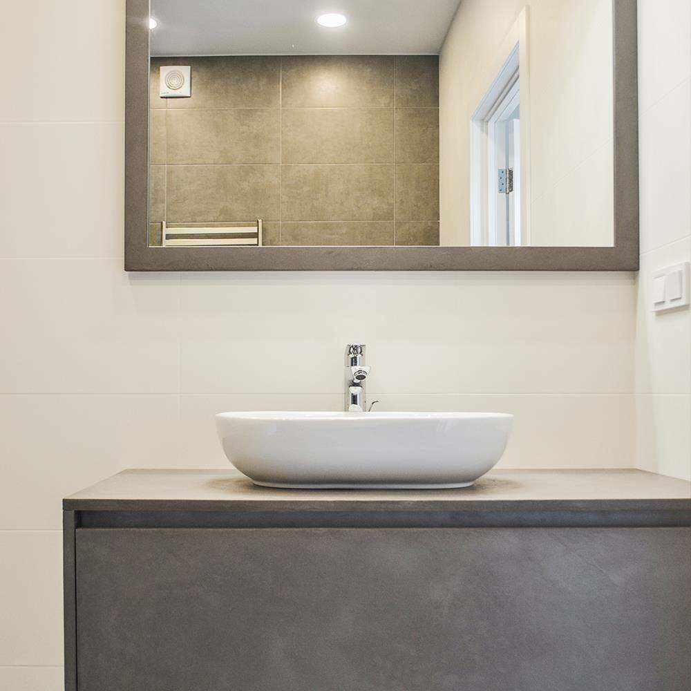 baños de cemento