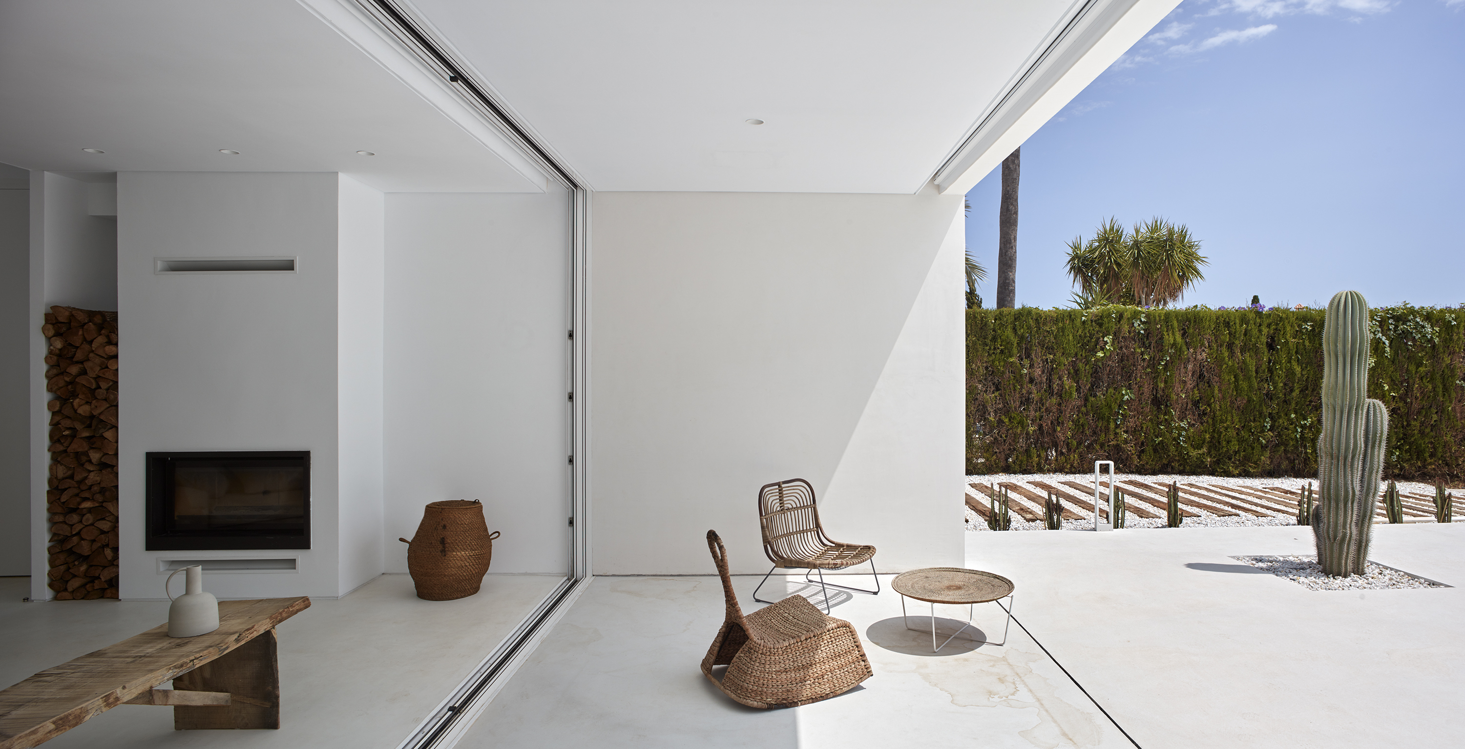 Carmen House interior and exterior cladding