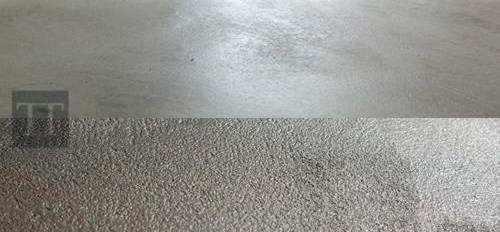 Différentes textures et resistance d'un sol de béton ciré.
