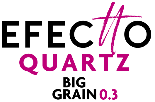 Logo Efectto Quartz Big Grain