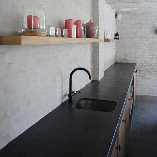 Kitchen worktops with Topciment