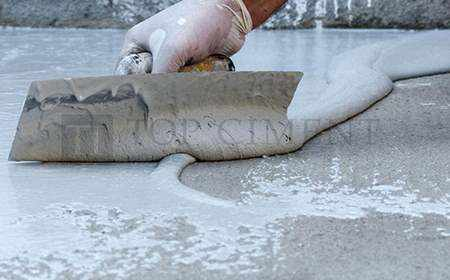 microcement application