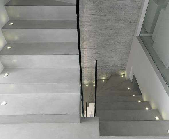 Microcement stairs & floors