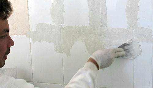 Qu es el microcemento usos aplicaciones y ventajas - Microcemento sobre azulejos ...