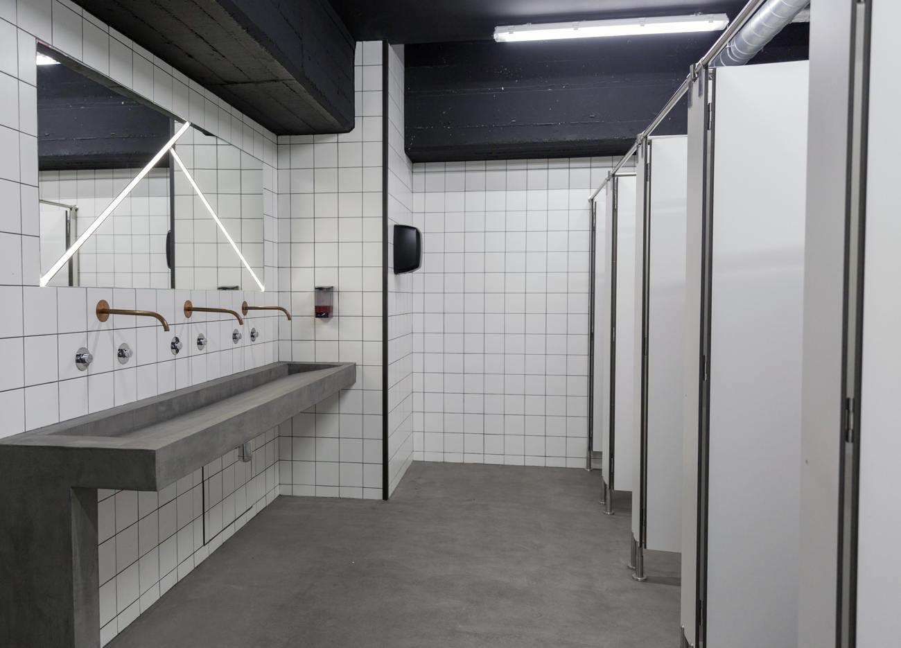 wand und boden mikrozement badezimmer