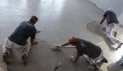 Galer a top ciment en zonas de alto tr nsito - Microcemento precio ...