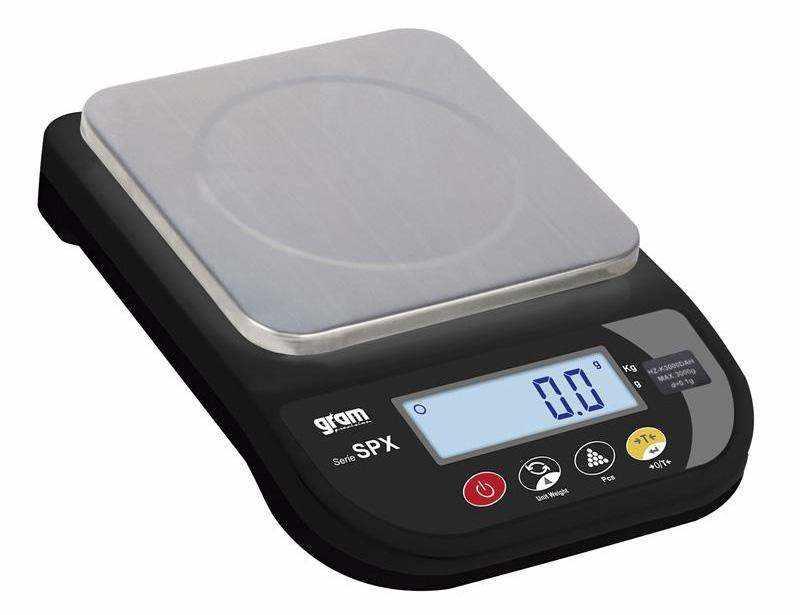 Balanza de pequeño formato y gran precisión SPX-1000-D