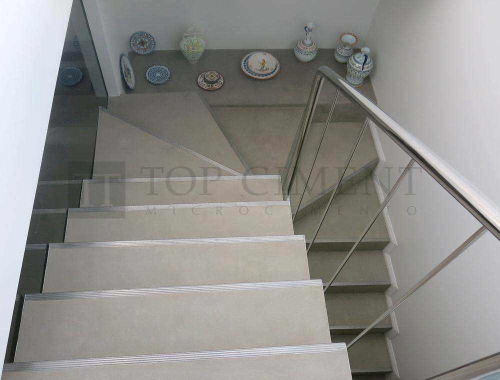 Fotos de escaleras de microcemento de dise o escaleras for Ofertas escaleras de aluminio
