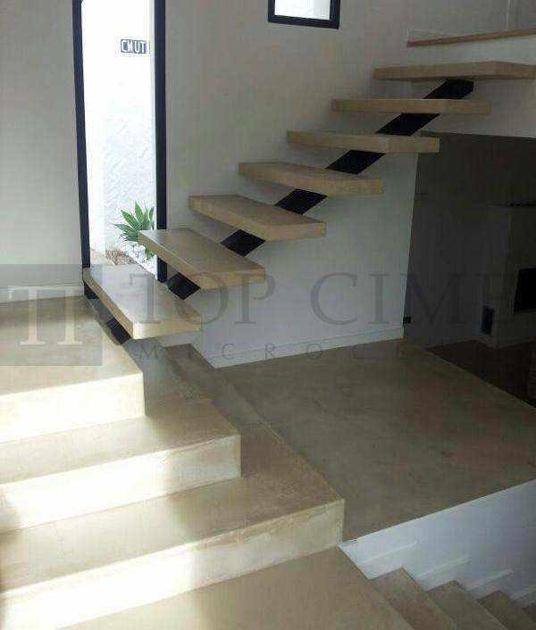 Fotos de escaleras de microcemento de dise o escaleras for Microcemento imagenes