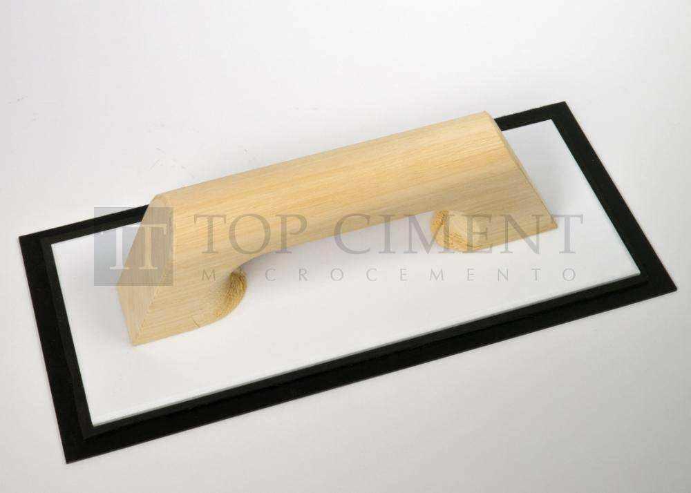 Llana de goma flexible para aplicar microcemento fino