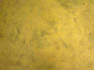 Arcocem Metal efecto metalizado Oro Gold 063 aplicado con esponja