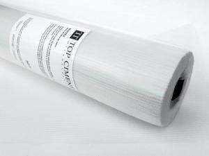 Flexible Glasfasermasche um Risse aufgrund von Spannungen am  Boden zu verhindern, es vereint der Mikrozement.