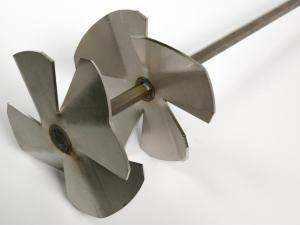 Doble hélice de acero inoxidable de la varilla mezcladora para morteros