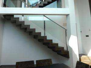 escaleras de microcemento para vivienda tres alturas