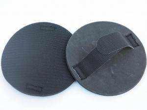 Guante de lijado manual con velcro para acoplar lijas redondas de 150mm