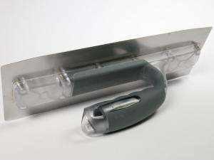 Llana acero Bi Flex 30 x 11 cm flexible de acero inoxdable para microcemento