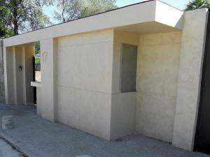 microcemento en paredes de exterior