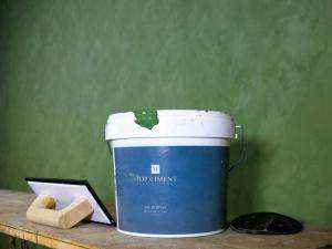 microcemento fino para paredes con efecto de aguas