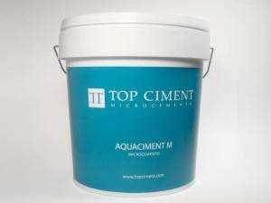 Microcemento para revestimiento de piscinas - Aquaciment M 20kg