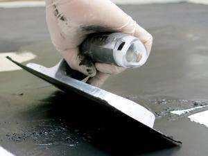 Microdeck en suelos - llana de acero biflex