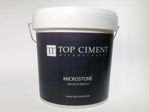 Microstone microcemento bicomponente para exteriores