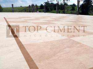 Microstone pavimento cotinuo de microcemento en exterior