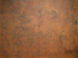 Farbe mit natürliche Metallpartikeln um ein Rost-Efekt zu erhalten -  Arcocem Metall ist erhältlich in Eisen, Bronze, Kupfer und Messing