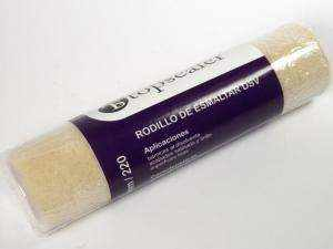 Rodillo esmaltar velour 22cm para aplicar selladores de microcemento