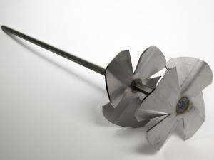 Varilla Mezcladora doble hélice de acero inoxidable para morteros