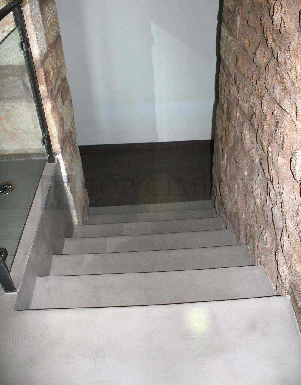 Fotos De Escaleras De Microcemento De Dise O Escaleras