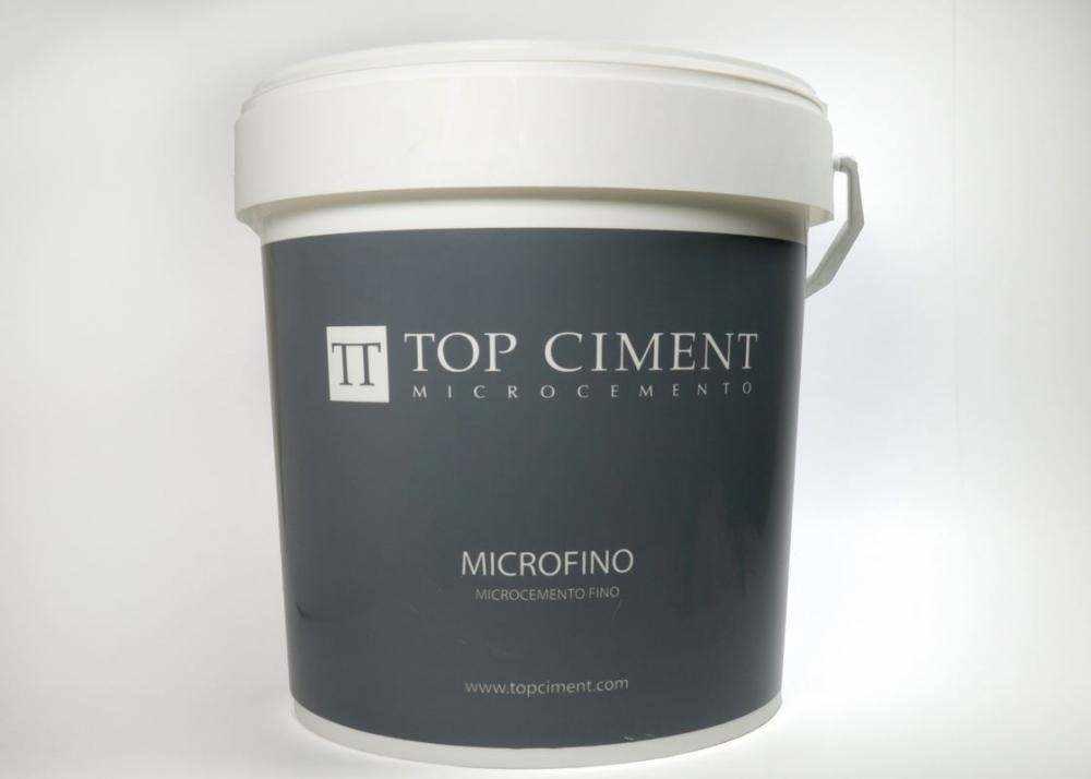 Microfino 20 kg microcemento fino bicomponente efecto aguas