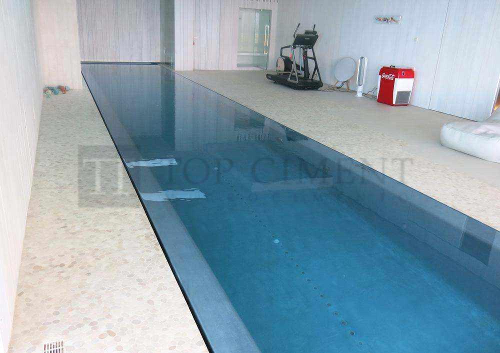 Fotos de piscinas de microcemento con aquaciment - Piscinas de interior ...