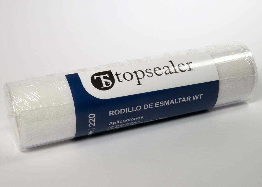 Rodillo sintético de poliéster 22cm - fibra de poliéster para selladores base agua